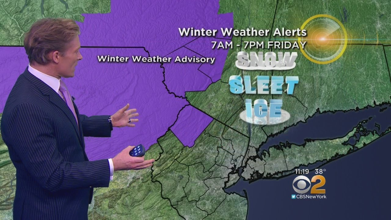 Snow, Sleet In Store Friday