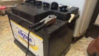 Що робити якщо зарядний пристрій не заряджає автомобільний акумулятор (Оріон pw 150)