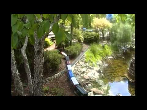 The Model Train Sets at Chicago Botanical Gardens, Part One