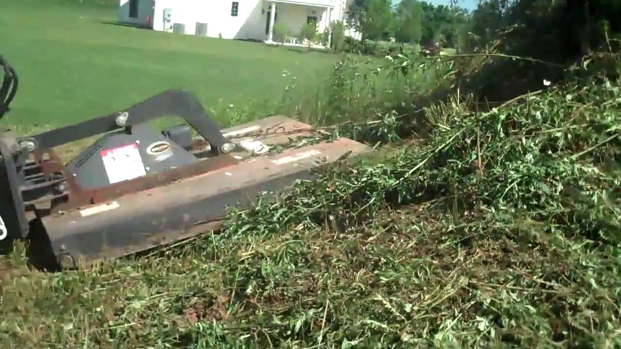clearing brush w chris orser landscaping youtube