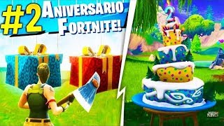 NEW FREE 2 FORTNITE BIRTHDAY GIFTS!!!!