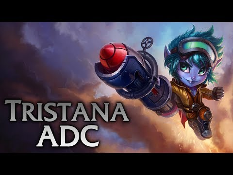 League of Legends | Rocket Girl Tristana ADC - Full Game Commentary