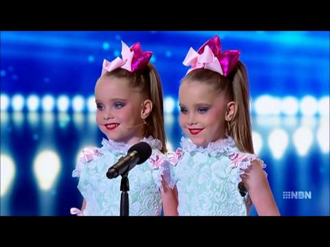 5 year old twins! Australia's Got Talent