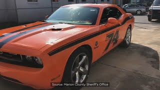 Man set ex-wife's house on fire before high-speed chase in Dodge Challenger, deputies say