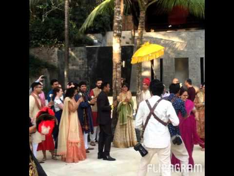 Indian Hindu Wedding in Bali