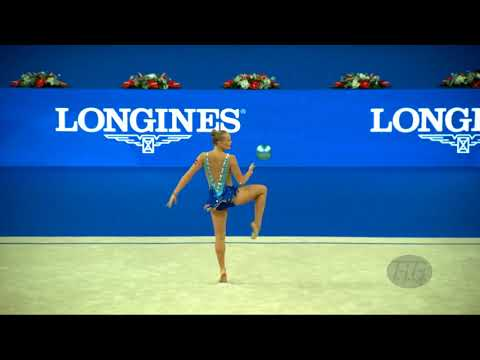SWENSEN Emilie (NOR) - 2017 Rhythmic Worlds, Pesaro (ITA) - Qualifications Ball