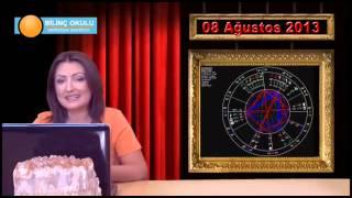 KOÇ Burç Yorumu 08 Ağustos 2013  &  DEMET BALTACI   astroloji, astrolog, astrology