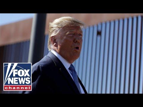 Trump commemorates the 200th mile of new border wall