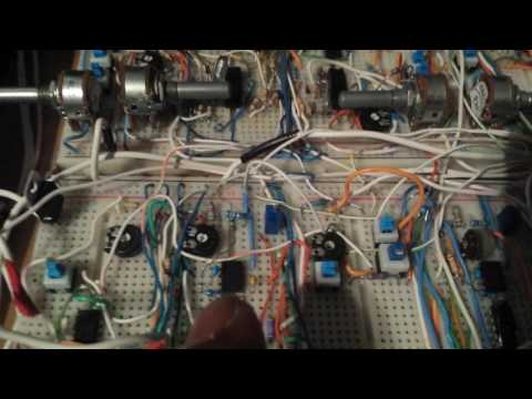 DIY analog synth project Tutorial Part 2c (Exponential Converter modifications/amendments)