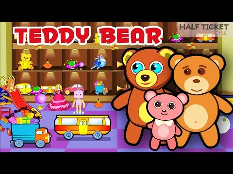 Teddy Bear Teddy Bear, Turn Around | Nursery Rhymes Songs And Kids Songs With Lyrics