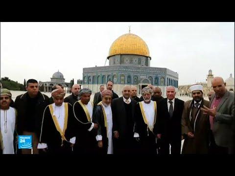 وزير الخارجية العماني يزور المسجد الأقصى وكنيسة القيامة بالقدس