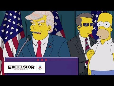 Los Simpsons predijeron que Donald Trump sería presidente
