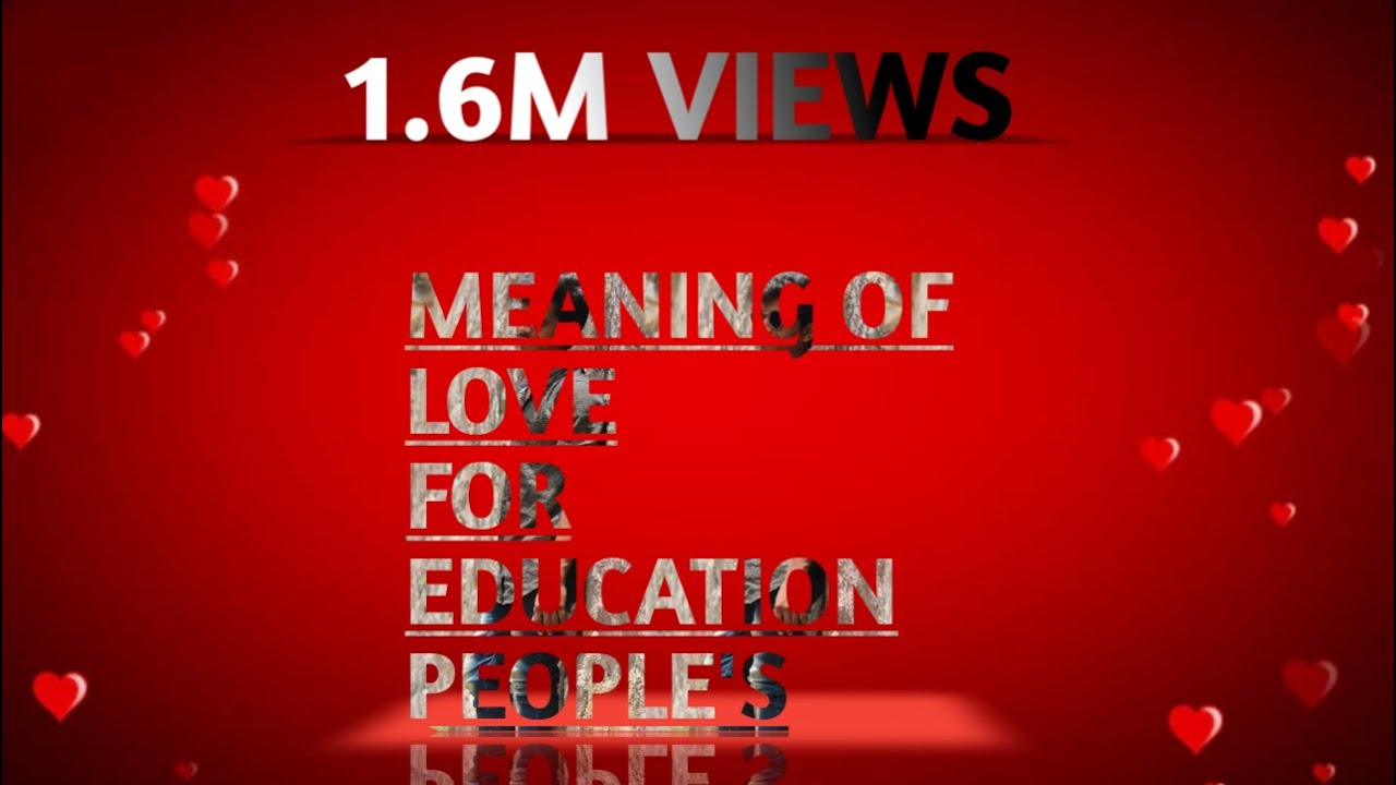 real meaning of love youtube