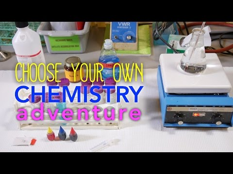MIT's Choose-Your-Own: Chemistry Adventure