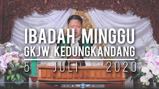 Ibadah Minggu GKJW Kedungkandang, 5 Juli 2020
