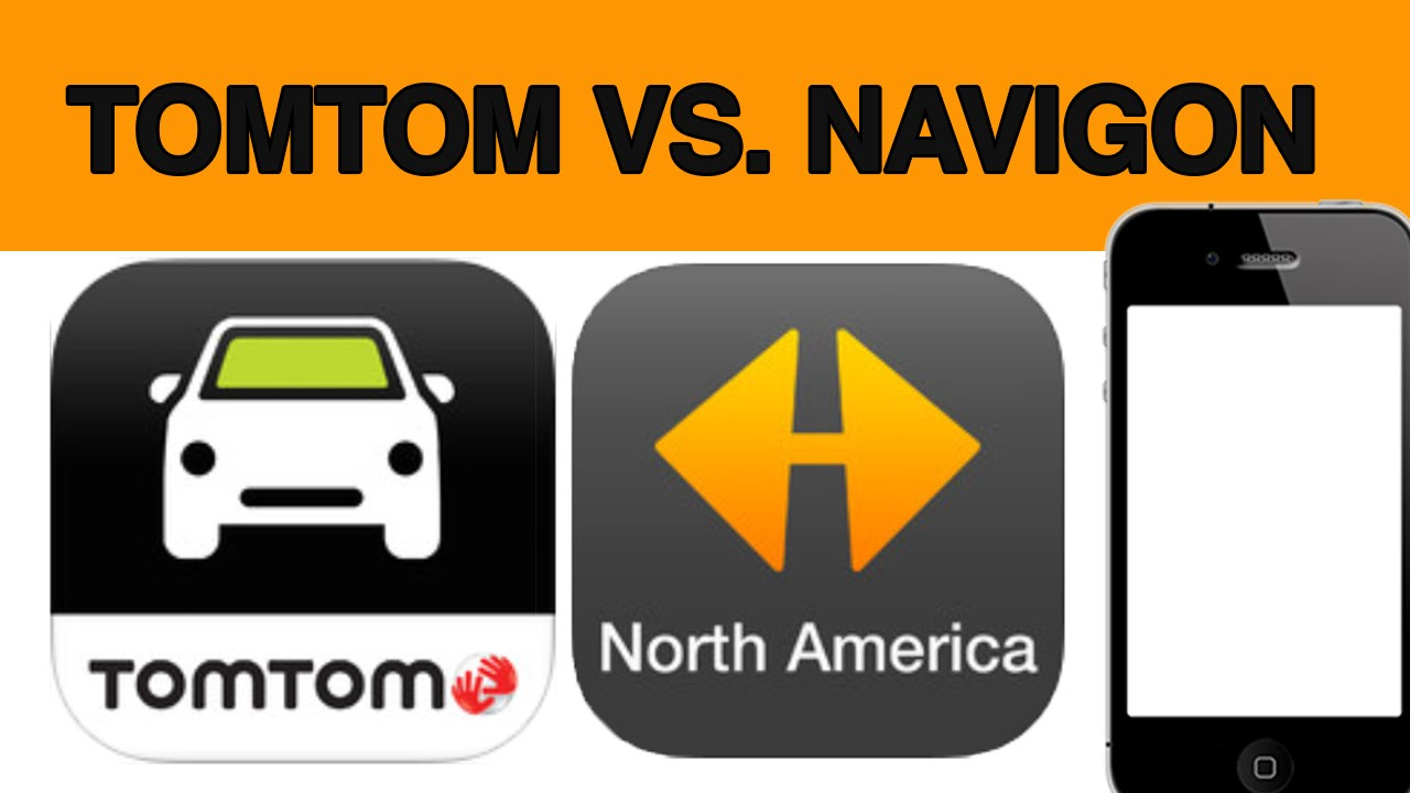 TomTom vs  Navigon gps app for iPhone Android Samsung Full Review