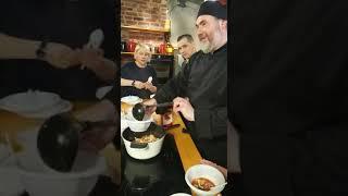 """Кормление съёмочной группы на съёмках передачи """"Монастырская кухня"""" на канале Спас"""
