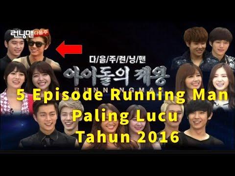[ WOW ] 5 Episode Running Man Paling Lucu Tahun 2016