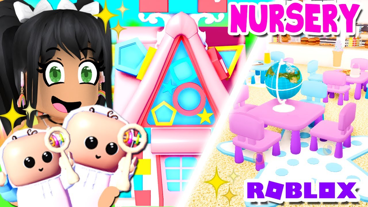 My PERFECT *NURSERY* TOUR! 👶 Club Roblox Baby Roleplay - YouTube