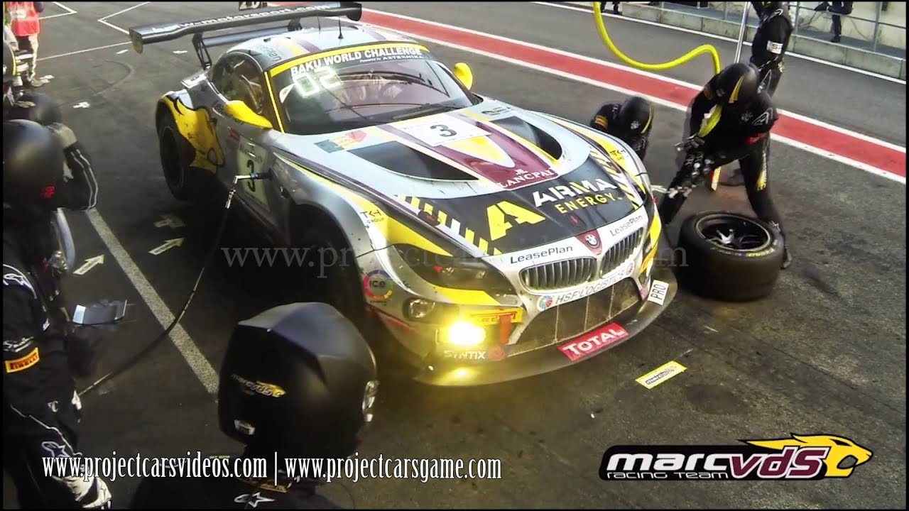 Project Cars - Race with Real Pit Stop example - YouTube