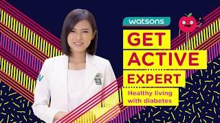 Healthy living with diabetes #getactiveexpert