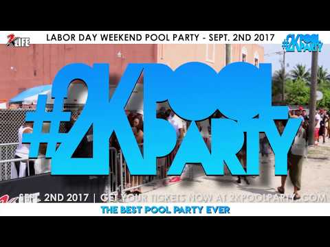 #2KPoolParty Memorial Day Recap | Labor Day Tix on Sale now!