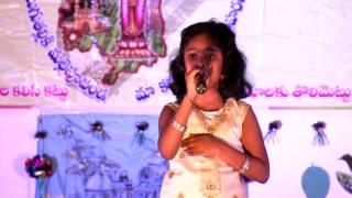 "ITA US2013: Shreya Menon singing 'Atu Nuvve Itu Nuvve..."""