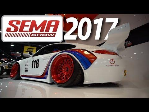 2017 SEMA Show - projetos incríveis, um pouco do que o futuro nos espera e altas gatas