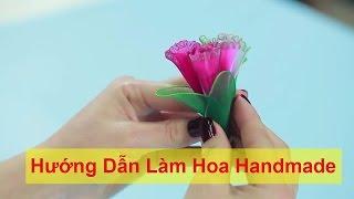 diy  huong dan lam hoa handmade  phan 2