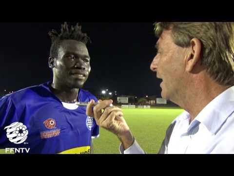 Geoffry Lino from Hellenic Athletic Talks about their Victory