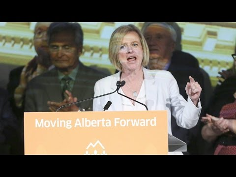Alberta premier says she is focused on economic diversification