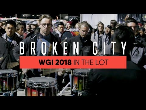 In The Lot With: Broken City Drumline - WGI Finals 2018