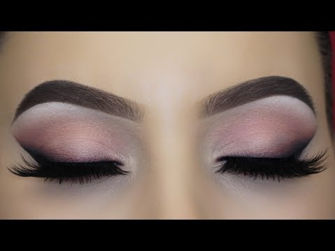 Soft Pink Smoked Winged Liner Tutorial