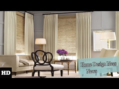 Modern Curtains For Bedroom l Window Decoration l New ideas 2018