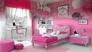 Pink wallpaper design ideas for girls room