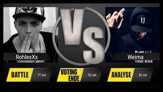 JBB 2015 [8tel-Finale 5/8] RohlexXx vs. Weima [ANALYSE]