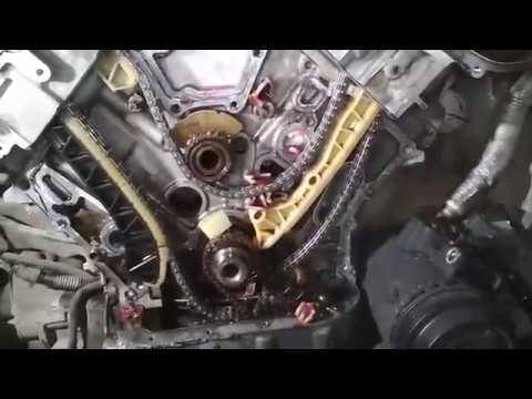 MB M272.972 (Привод ГРМ) Обзор повреждений