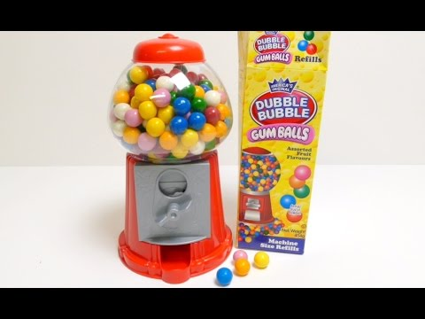 Gumball Machine (Dubble Bubble Gum) - Gum Machine ガムボールマシーン