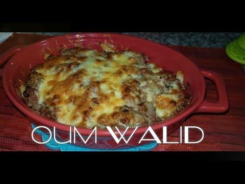 ام-وليد-وصفة-بطاطا-فريت-باللحم-المفروم-في-الفرن-oum-walid- -top-recette-de-frites-à-la-viande-haché