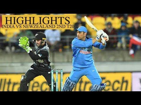 INDIA vs New Zealand 2nd T20 Auckland 2019.. Highlights #NewsViews360