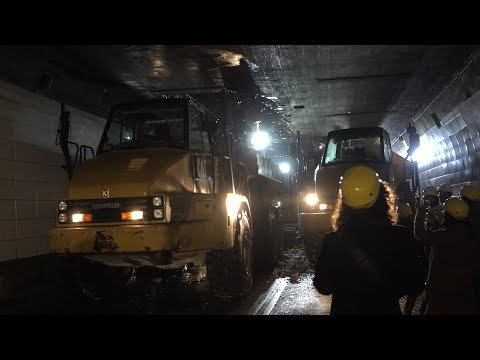 Detroit Windsor Tunnel Construction Update