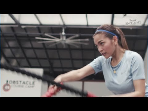 Workout with Janine Gutierrez and Andrea Torres
