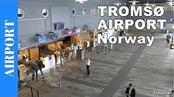 TROMSØ AIRPORT Tour - Langnesin Norway - Check-in to Departure - Tromso Airport