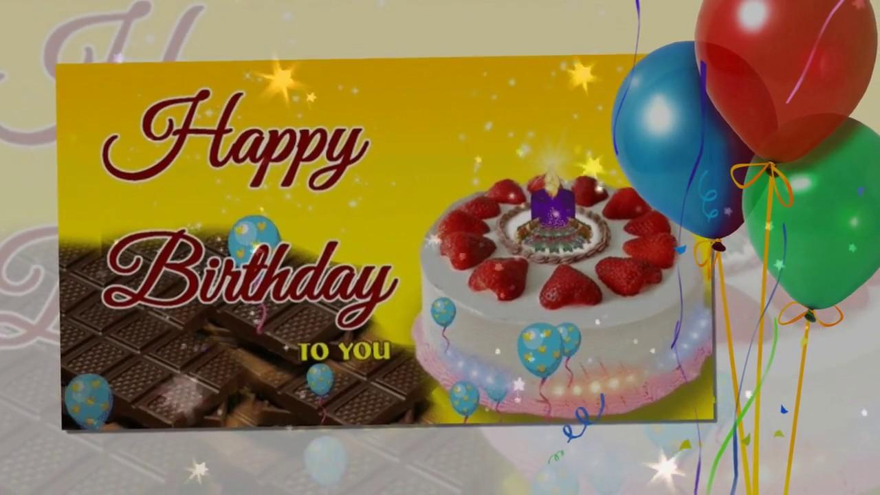 születésnapi idézetek németül Happy Birthday To You! / Boldog születésnapot!   YouTube