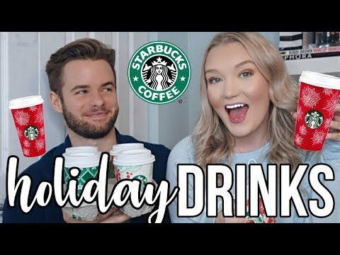 Carmen - NEW Holiday Starbucks Drink Taste Like a Christmas Tree