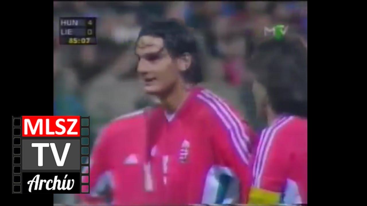 Magyarország-Liechtenstein | 5-0 | 1999. 03. 27 | MLSZ TV Archív