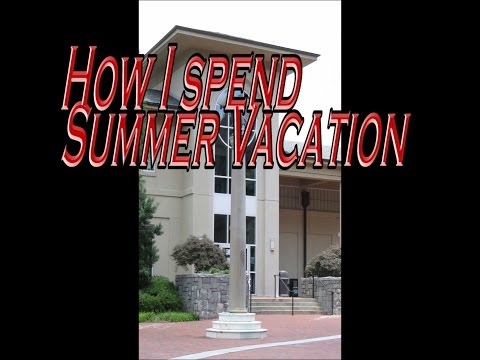Teacher's Summer Vacation