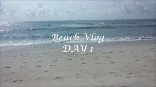 Beach Vlog: Day 1 OOTD, Driving, Frozen??, & The Beach Thumbnail
