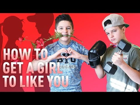 How To Get A Girl To Like You!   Brock and Boston from Millennial Moms