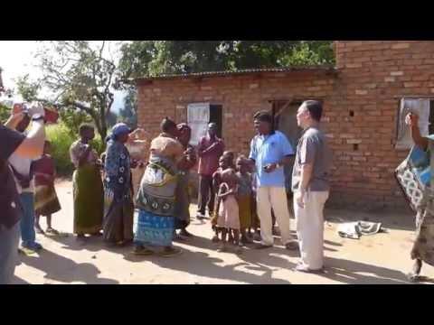Visiting Residents in Kikwawila
